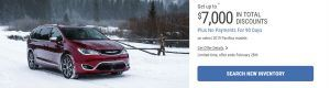 2019 Chrysler Pacifica February Offers