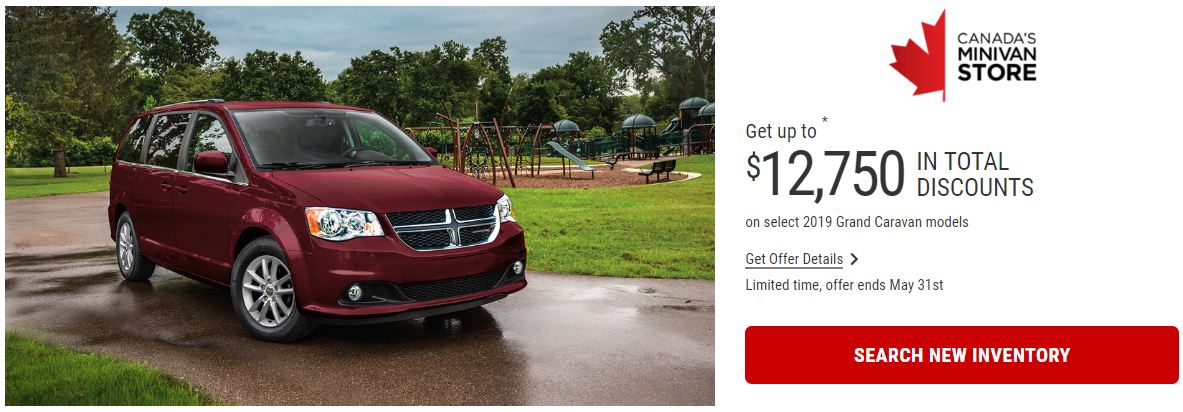 2019 Dodge Grand Caravan Edmonton Offers