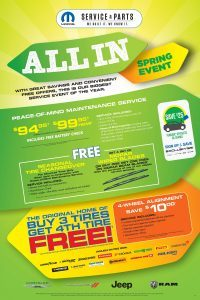Edmonton Parts Service Specials Offers