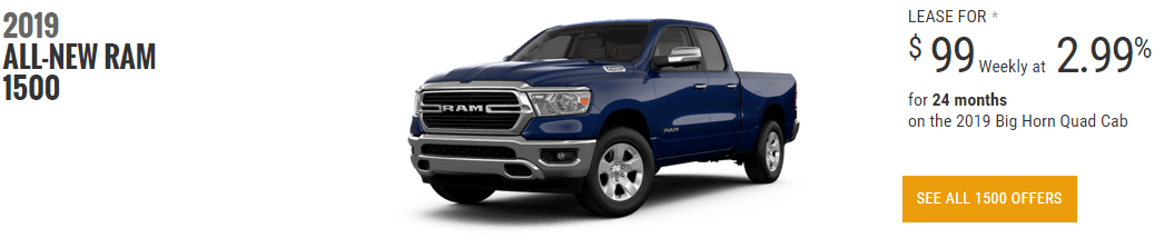 ram truck special offers