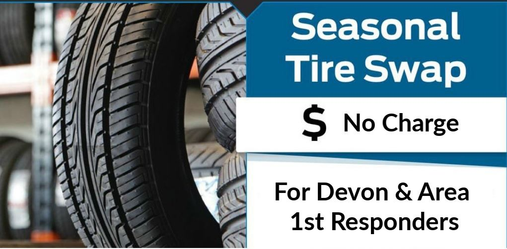 Free Tire Sway For First Responders
