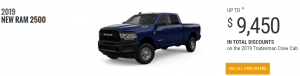 2019 Ram 2500 Special Offers June Devon Chrysler