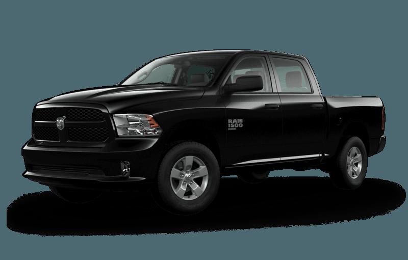 2020 Ram 1500 Classic in black