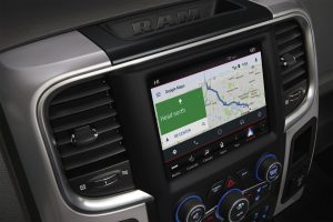 2020 Ram 1500 Classic GPS on screen