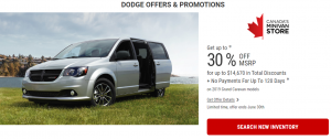 Dodge Offers and Promotions Devon Chrysler June Alberta