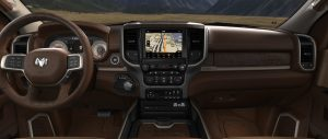 Ram 3500 Longhorn front interior dashboard