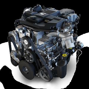 6.7L Cummins Turbo Diesel I-6 engine