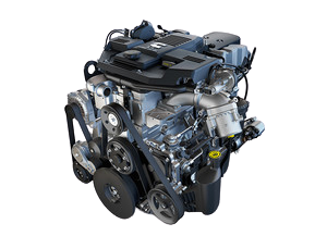 6.7L Cummins engine