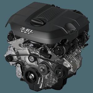 3.6L Dodge Grand Caravan engine