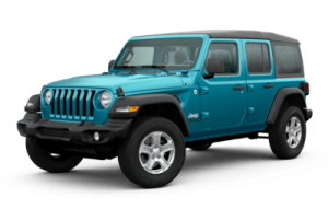 2020 Jeep Wrangler Unlimited Sport S trim level