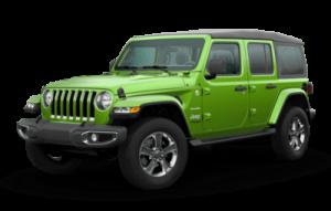 2020 Jeep Wrangler Unlimited Sahara trim level