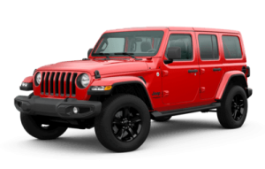 2020 Jeep Wrangler Unlimited Sahara Altitude trim level