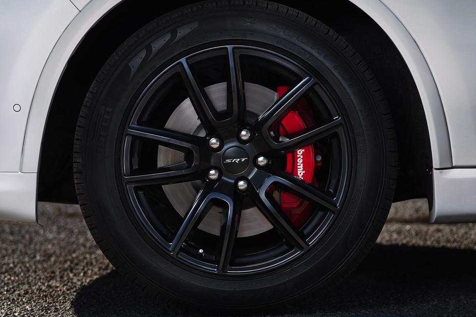 Close-up of wheel of 2020 Dodge Durango