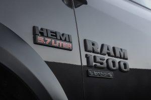 Ram 1500 Classic HEMI badging