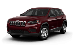 2020 Jeep Cherokee front three-quarter view