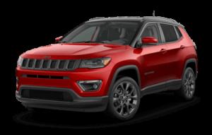 2020 Jeep Compass three-quarter view
