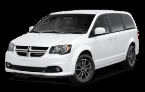 2020 Dodge Grand Caravan front three-quarter view