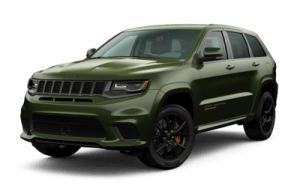 2020 Jeep Grand Cherokee front three-quarter view