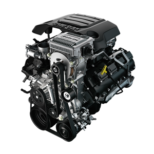 Ram 1500 HEMI engine