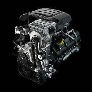 5.7L HEMI V8 engine with eTorque