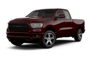 2020 Ram 1500 Sport in black
