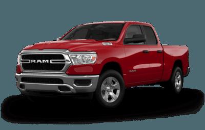 Ram 1500 Laramie front diagonal view