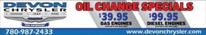 Devon Chrysler Dodge Jeep Ram Oil Change Special Offers Incentives