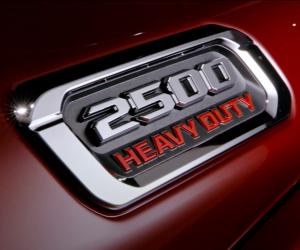 Ram 2500 Heavy Duty badge