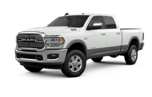 Front side view of Ram 3500 Laramie