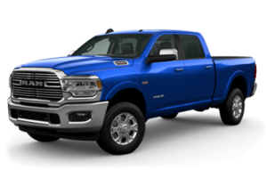 Ram 2500 Laramie Front and side view
