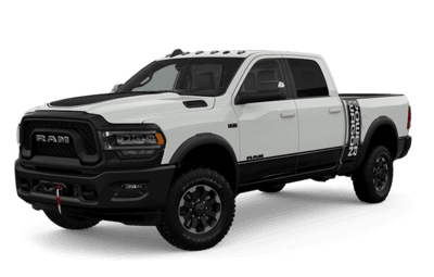 2020 Ram 2500 Power Wagon front side view
