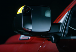 Trailer Tow Mirror on the Ram 3500 Big Horn