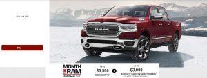 Month of Ram Trucks Devon Chrysler Special Offers Incentives Edmonton Alberta