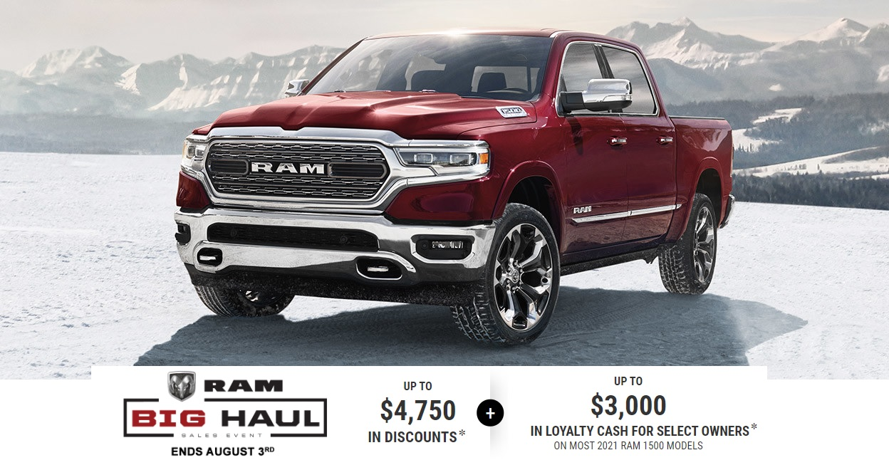 Edmonton Ram Truck Special Offers IncentivesDevon Chrysler