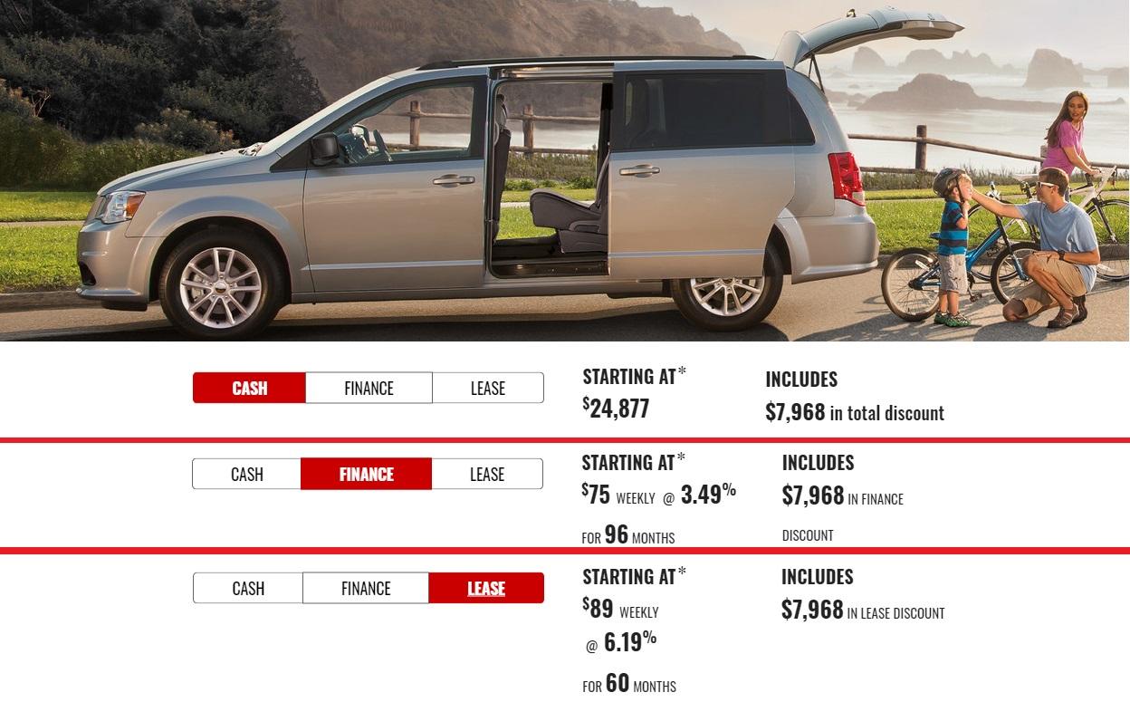 Dodge Durango Grand Caravan Specials Offers Incentives Devon Chrysler Alberta Edmonton Leduc Stoney Plain