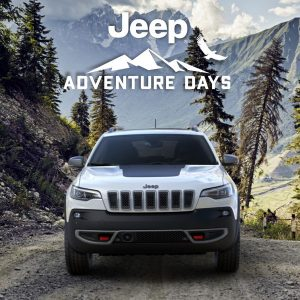 Jeep Cherokee Adventure DaysGet 7.5% Off MSRP plus up to $1,500 in Bonus Cash and up to $2,000 in Loyalty Cash for select owners