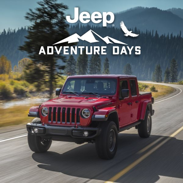 Jeep Gladiator Adventure Days 2021 Jeep Gladiator  Finance for as low as 3.49% for up to 96 months on all 2021 Jeep Gladiator models Alberta Edmonton Devon Chrysler