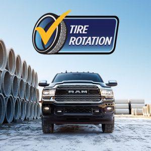 Tire Rotation Ram Truck Service Experts Alberta Edmonton Devon Chrysler Get Winter Ready