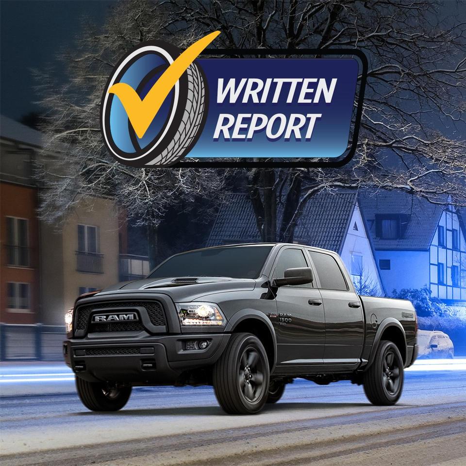 Written Report Ram Truck Service Experts Alberta Edmonton Devon Chrysler Get Winter Ready