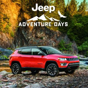 Jeep Compass Adventure Days 2021 Jeep Gladiator Finance Get 7.5% Off MSRP plus up to $1,500 in Bonus Cash and up to $2,000 in Loyalty Cash for select owners
