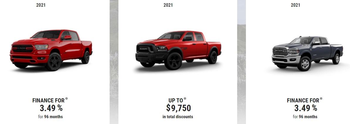 Edmonton Ram Truck Special Offers Incentives Devon Chrysler Alberta